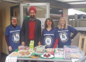 Red Nose Day and Tan Dhesi1